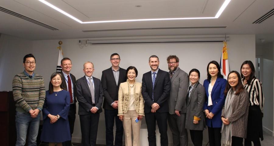 제 2회 영국 교과서 내 한국관련 기술 내용 확대 라운드테이블 개최