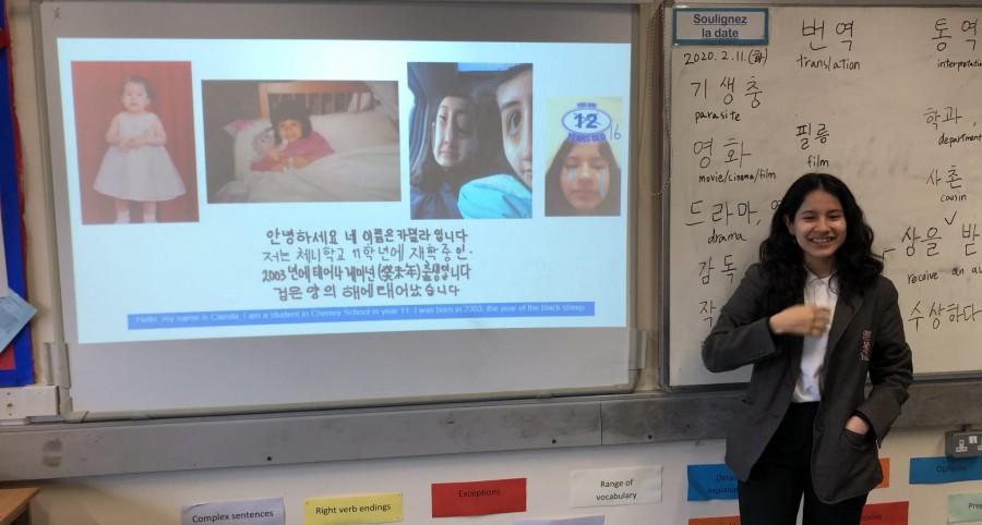 Successful Korean Club at Cheney School, Oxford
